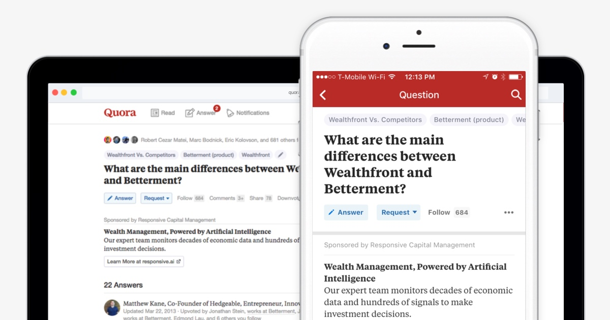 Image result for quora ad